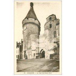 carte postale ancienne 33 LIBOURNE. Tour du Grand 1943