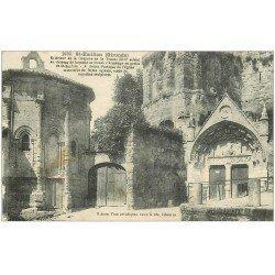 carte postale ancienne 33 SAINT-EMILION. Chapelle Trinité