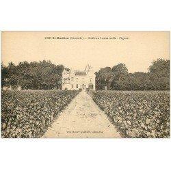 carte postale ancienne 33 SAINT-EMILION. Château Mamarzelle-Figeac