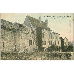 carte postale ancienne 33 SAINT-EMILION. Château Merlet et Fossés