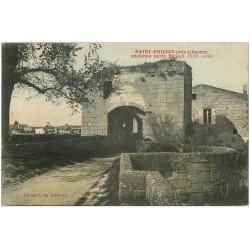 carte postale ancienne 33 SAINT-EMILION. Porte Brunet