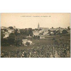 carte postale ancienne 33 SAINT-EMILION. Ville et Vignobles BR 2