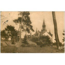 carte postale ancienne 33 SOULAC-SUR-MER. Abbaye Bénédictins vers 1945