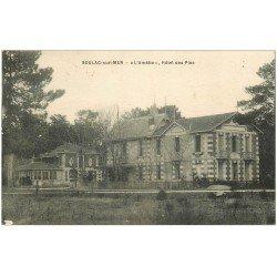 carte postale ancienne 33 SOULAC-SUR-MER. Amélie Hôtel des Pins 1937