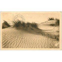 carte postale ancienne 33 SOULAC-SUR-MER. Dunes vers les Epis 1932