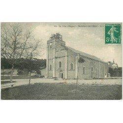 carte postale ancienne 33 SOULAC-SUR-MER. La Basilique Notre-Dame-de-la-Fin-des-Terres