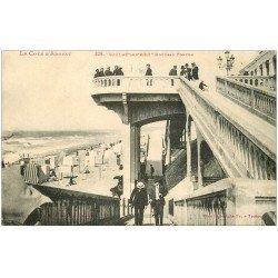 carte postale ancienne 33 SOULAC-SUR-MER. Nouveau Ponton 1926