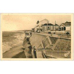 carte postale ancienne 33 SOULAC-SUR-MER. Nouveau Ponton 1933