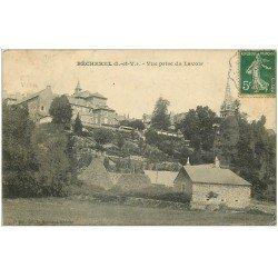 carte postale ancienne 35 BECHEREL. Lavoir 1908