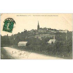 carte postale ancienne 35 BECHEREL. Route Chapelle-Chaussée 1913
