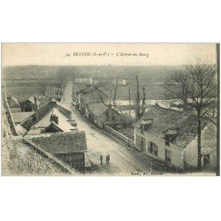 carte postale ancienne 35 BETTON. Entrée du Bourg 1919