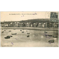 carte postale ancienne 35 CANCALE. Houle de la Jetée 1931
