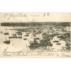 carte postale ancienne 35 CANCALE. La Houle 1901