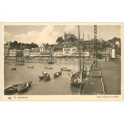 carte postale ancienne 35 CANCALE. La Jetée