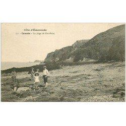 carte postale ancienne 35 CANCALE. Plage de Port-Briac
