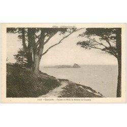 carte postale ancienne 35 CANCALE. Pointe Hock Rocher