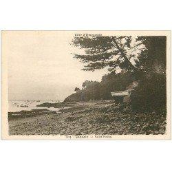carte postale ancienne 35 CANCALE. Vallée Porcon