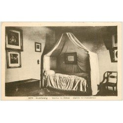 carte postale ancienne 35 COMBOURG. Chambre Chateaubriand