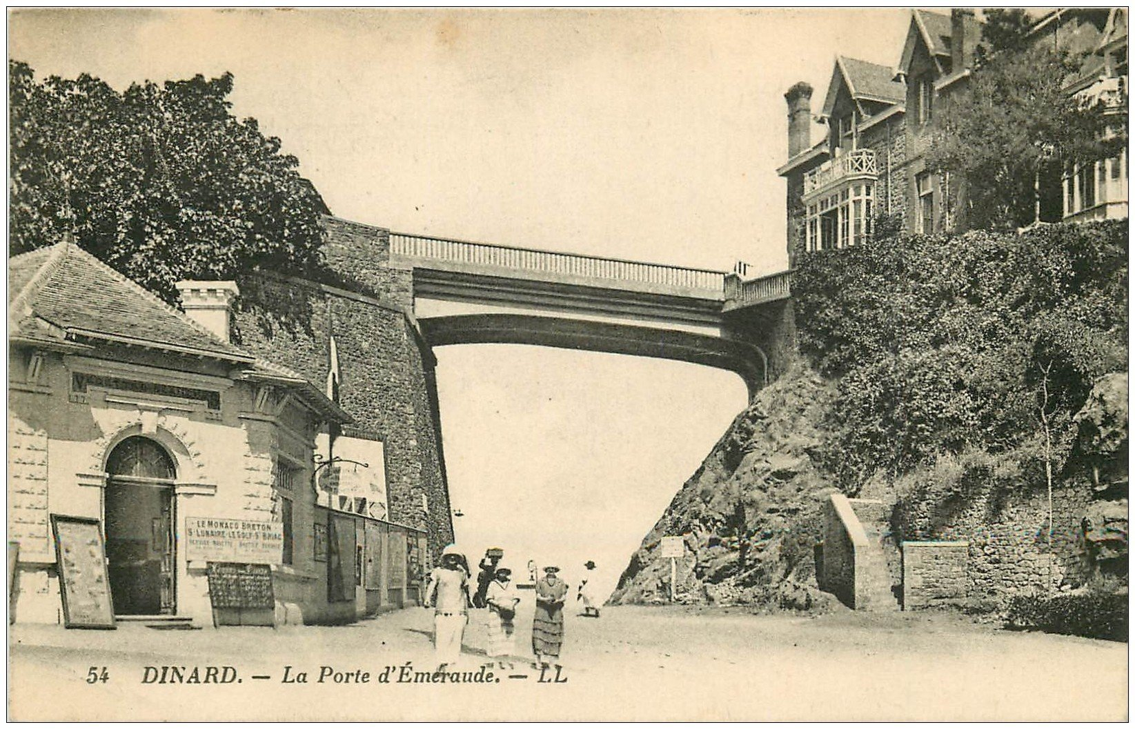 carte postale ancienne 35 DINARD. Porte Emeraude