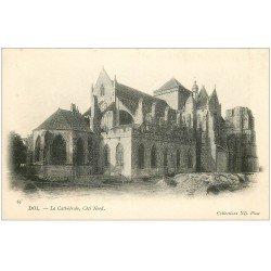 carte postale ancienne 35 DOL. Cathédrale N° 62 vers 1900