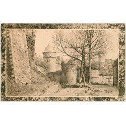 carte postale ancienne 35 FOUGERES. Porte 1917