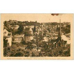 carte postale ancienne 35 FOUGERES. Tour Raoul et Surienne