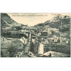 carte postale ancienne 05 BRIANCON. Et Sainte-Catherine