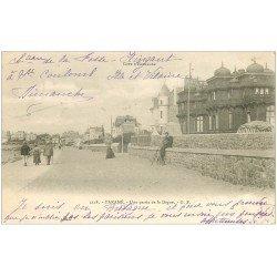 carte postale ancienne 35 PARAME. La Digue 1903