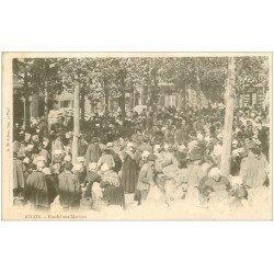 carte postale ancienne 35 REDON. Marché aux Marrons vers 1900