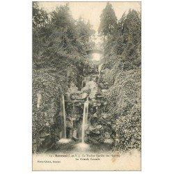 carte postale ancienne 35 RENNES. Cascade Passerelle militaires