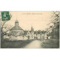 carte postale ancienne 35 RENNES. Château Prévalaye 1908