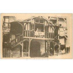 carte postale ancienne 35 RENNES. Cour des Carmes