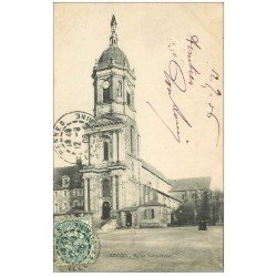 carte postale ancienne 35 RENNES. Eglise Notre-Dame 1906