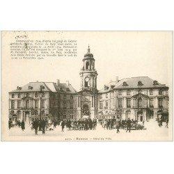 carte postale ancienne 35 RENNES. Hôtel de Ville 4419