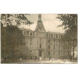 carte postale ancienne 35 RENNES. Lycée (petits blancs)...
