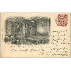 carte postale ancienne 35 RENNES. Palais Justice Première Chambre Civile 1903