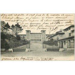 carte postale ancienne 35 RENNES. Pensionnat Saint-Vincent 1919
