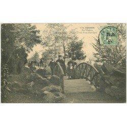 carte postale ancienne 35 RENNES. Thabor Petit Pont 1907
