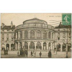 carte postale ancienne 35 RENNES. Théâtre 1923