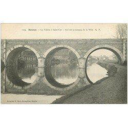 carte postale ancienne 35 RENNES. Vilaines à Saint-Cyr