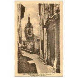 carte postale ancienne 05 BRIANCON. Rue des Casernes Chapelle des Pénitents