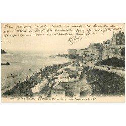 carte postale ancienne 35 SAINT-MALO. Bon-Secours 1924