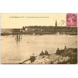 carte postale ancienne 35 SAINT-MALO. Fort Cité 1932