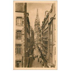 carte postale ancienne 35 SAINT-MALO. Grande Rue