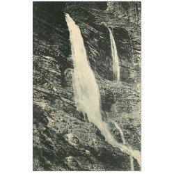 carte postale ancienne 05 CHATEAUROUX-les-ALPES. Cascade de la Pisse