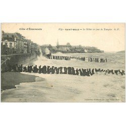 carte postale ancienne 35 SAINT-MALO. Le Sillon