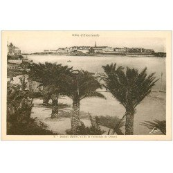 carte postale ancienne 35 SAINT-MALO. Palmeraie