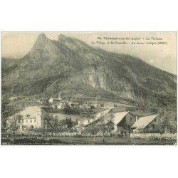 carte postale ancienne 05 CHATEAUROUX-les-ALPES. Village Saint-Marcellin. La Verduna
