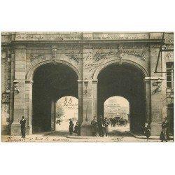 carte postale ancienne 35 SAINT-MALO. Porte Saint-Vincent 1903
