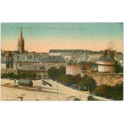carte postale ancienne 35 SAINT-MALO. Porte Saint-Vincent 1923